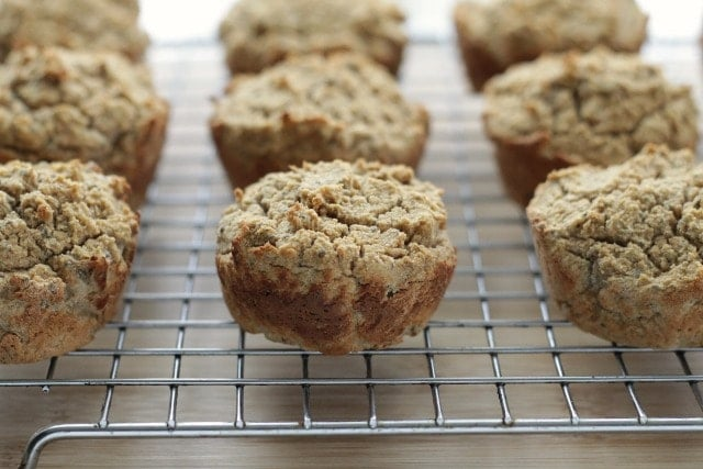 Grain-Free Applesauce Muffins. Your family will never notice that these moist muffins are free from grains and gluten!