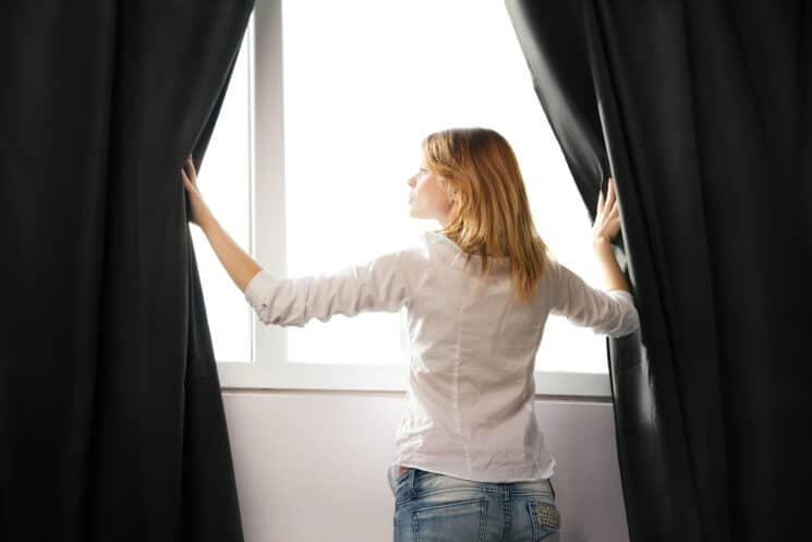 Travel with black out blinds to help your kids sleep better on vacation
