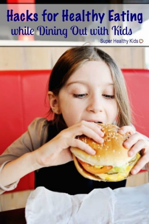 HEALTHY EATING HACKS - Hacks for Healthy Eating while Dining Out with Kids. One of the top 20 food trends in 2016 is healthful kids' meals. What are restaurants doing to provide healthy choices for kids? https://www.superhealthykids.com/hacks-healthy-kids-choices-dining/