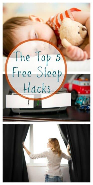 The Top 5 Free Sleep Hacks