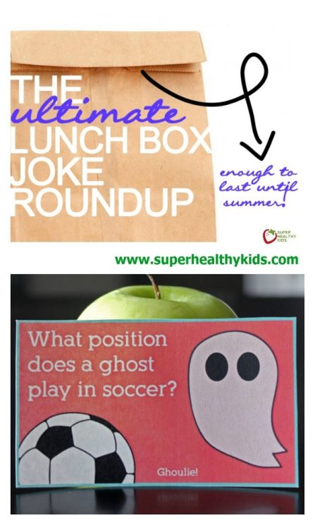 The Ultimate Lunchbox Joke Roundup. The Ultimate place to get lunch box jokes to pack in your kids lunches. These will definitely make their day!