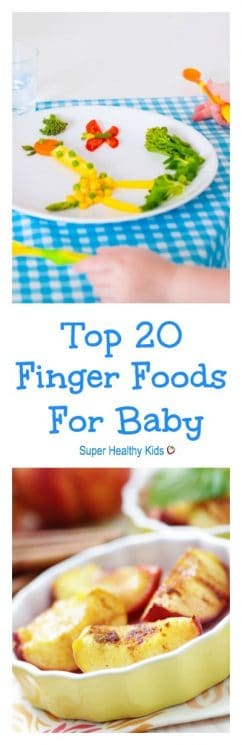 Top 20 Finger Foods For Baby. 20 of our favourite baby-friendly finger foods that are great for the whole family!