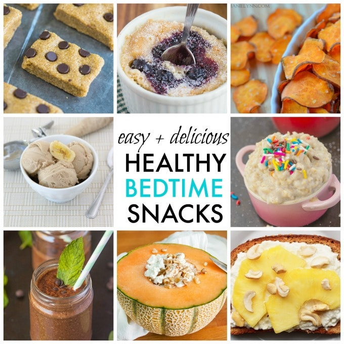 10 Delicious Bedtime Snacks that Are Filling and Quick!