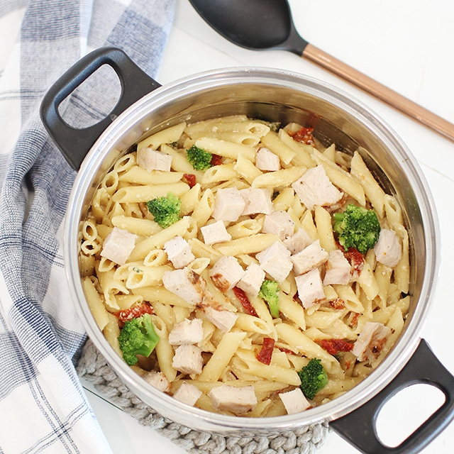 Tangy One Pot Chicken And Veggie Pasta Dinner Super Healthy Kids