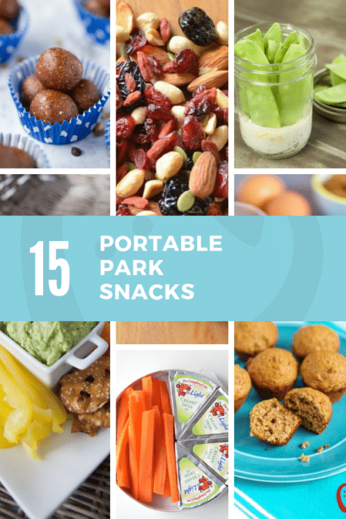 15 portable park snacks