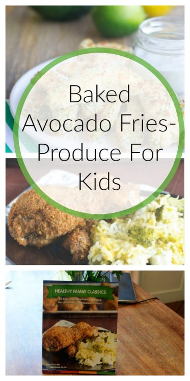 Baked Avocado Fries- Produce For Kids