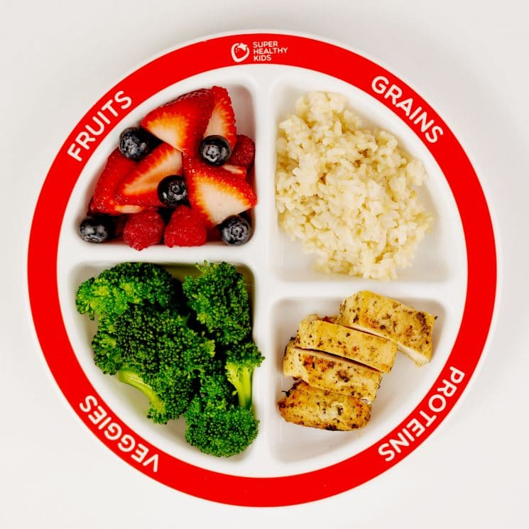 MyPlate and the Update on Grains - Super Healthy Kids
