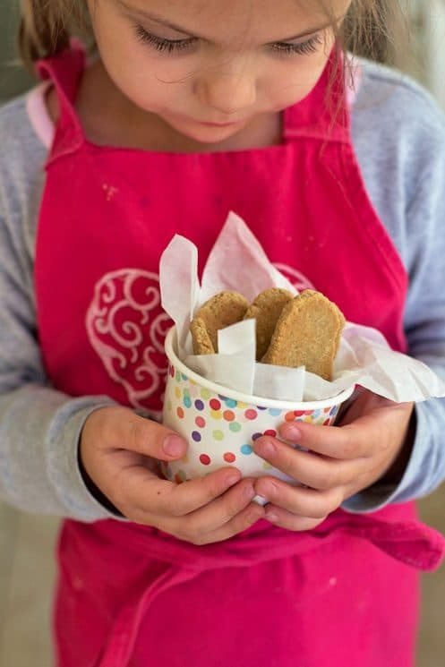 Healthy Homemade Teething Biscuits. These healthy homemade teething biscuits are perfect for little ones with sore mouths. Only 3 ingredients and our kids love them!