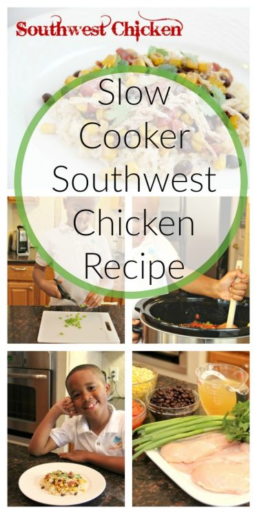 Slow Cooker Southwest Chicken Recipe