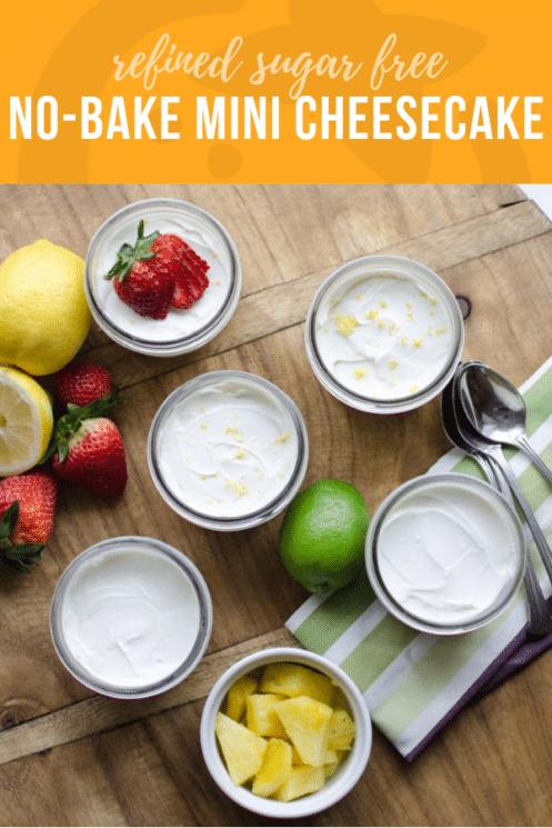No-Bake Mini Cheesecake Recipe | Healthy Ideas & Recipes for Kids