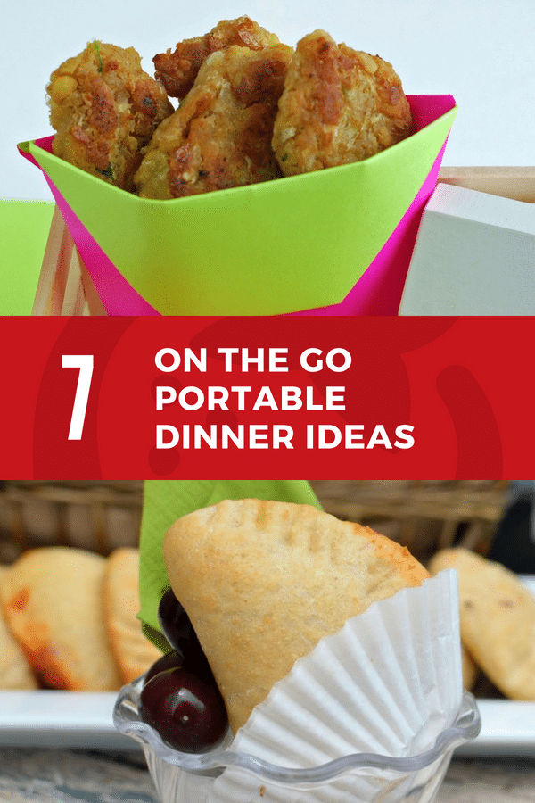 portable dinner ideas for on the go meals