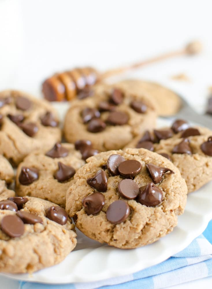 Healthy Peanut Butter Cookies With Chocolate Chips Super Healthy Kids