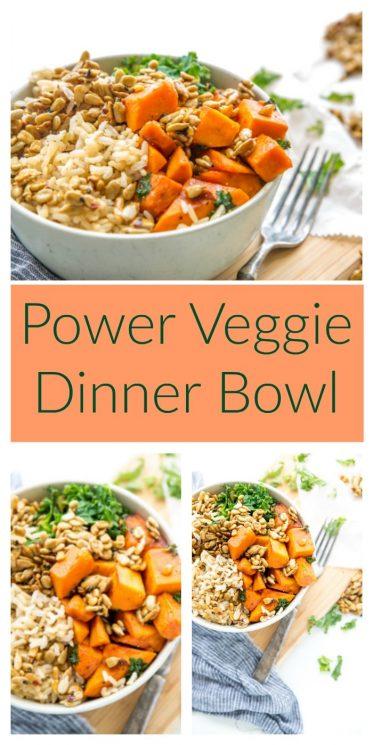 Power Veggie Dinner Bowl