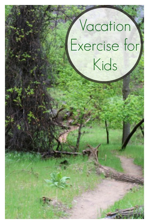 Vacation Exercise for Kids