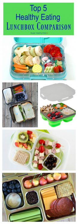 Top 5 Healthy Eating Lunchbox Comparison