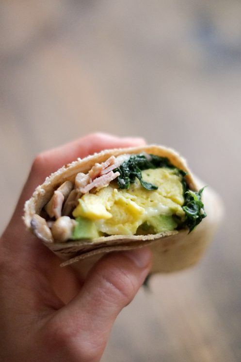 School Morning Breakfast Burrito Recipe