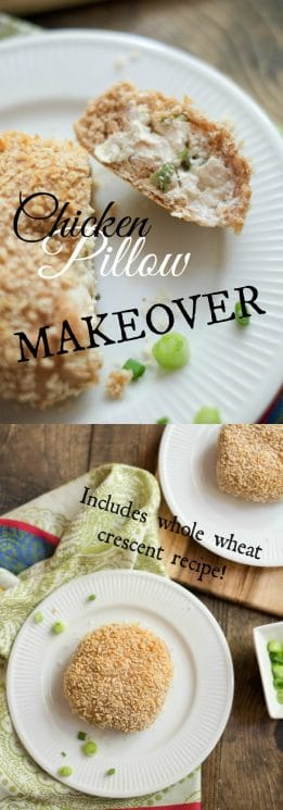 FOOD - Chicken Pillow Makeover - Brilliant on-the-go dinner. https://www.superhealthykids.com/chicken-pillow-makeover-recipe/
