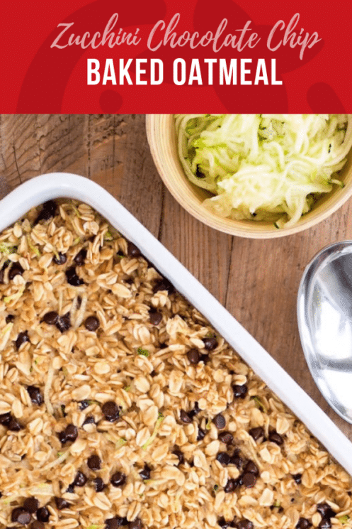 Zucchini Chocolate Baked Oatmeal   Healthy Recipes for Kids