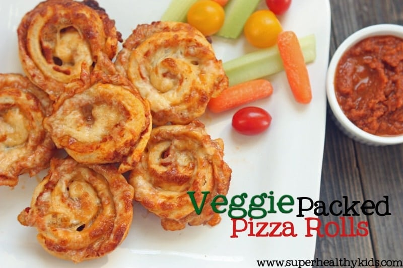 Veggie Packed Pizza Rolls Recipe Healthy Ideas For Kids