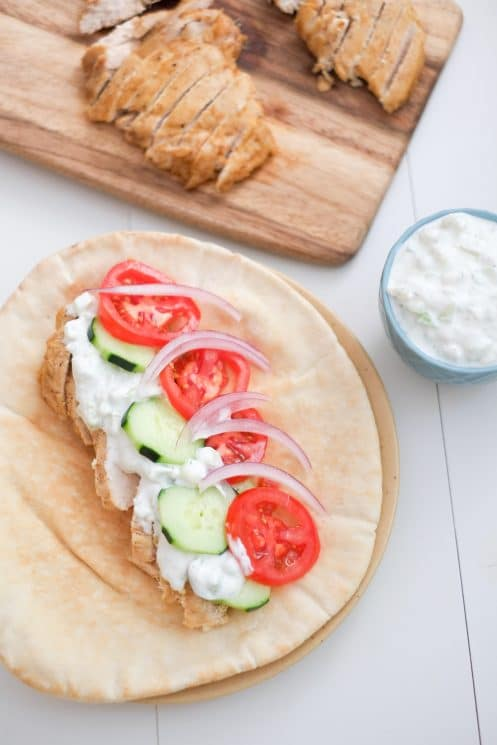 Oven Roasted Chicken Shawarma. Tasty chicken shawarma from the comfort of your own home!