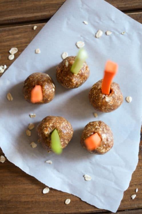Almond Butter Date Balls Recipe