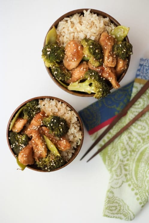 Slow Cooker Honey Sesame Chicken with Veggies Recipe