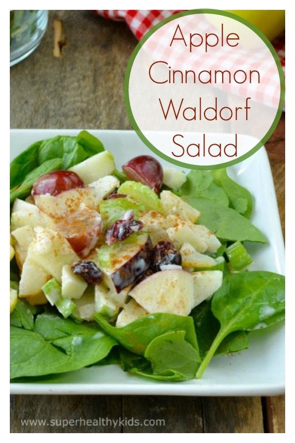 Apple Cinnamon Waldorf Salad