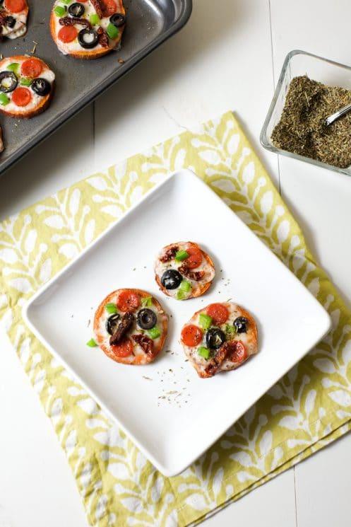 Cheesy Italian Sweet Potato Bites Recipe