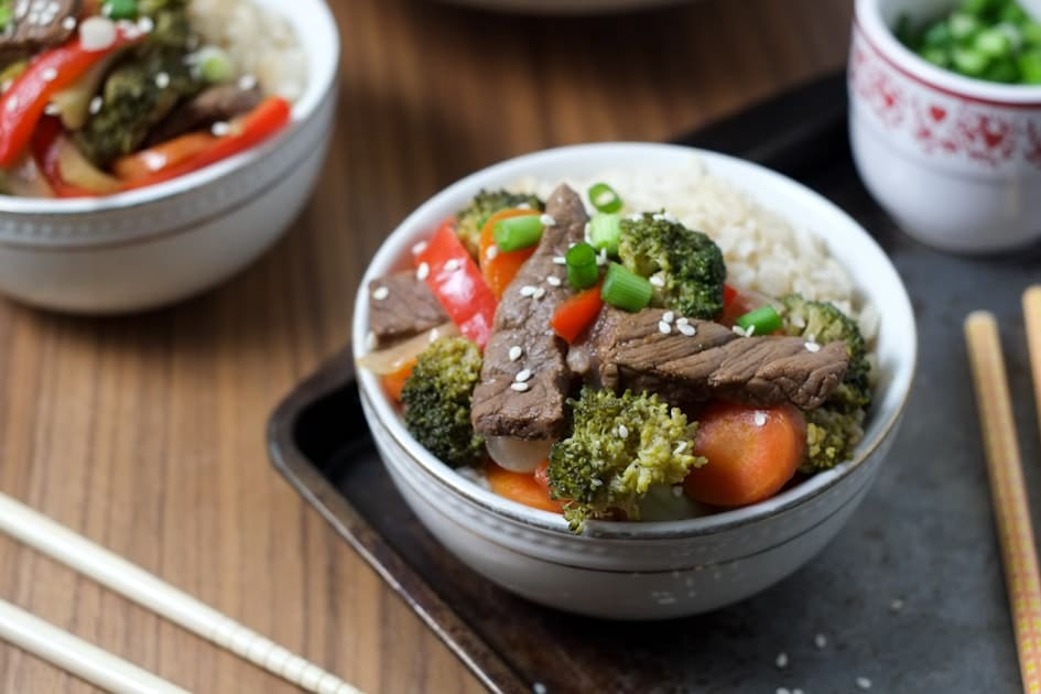 Easy Weeknight Stir-Fry Recipe | Super Healthy Kids | Food and Drink, stir fry with steak, Quick and Easy Last Minute Dinner Ideas