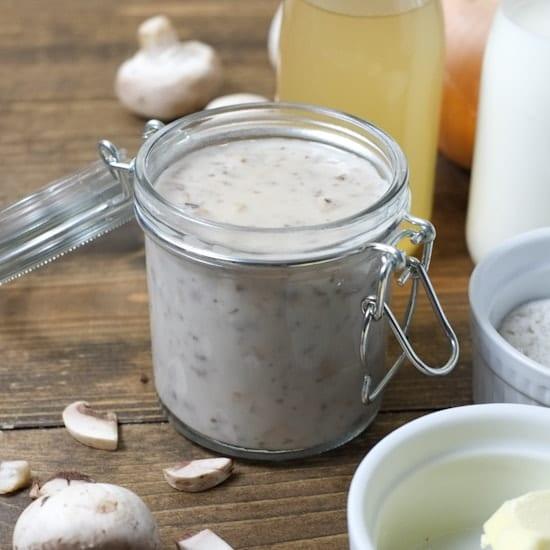 How To Make Homemade Cream Of Chicken Or Mushroom Soup