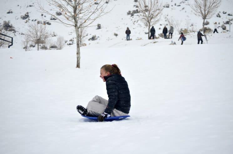 erica-sledding