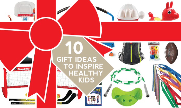 Gift Guide: 10 Gift Ideas to Inspire Healthy Kids