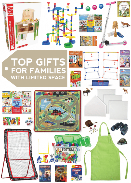 Top 20 Gift Ideas for Families with Limited Space