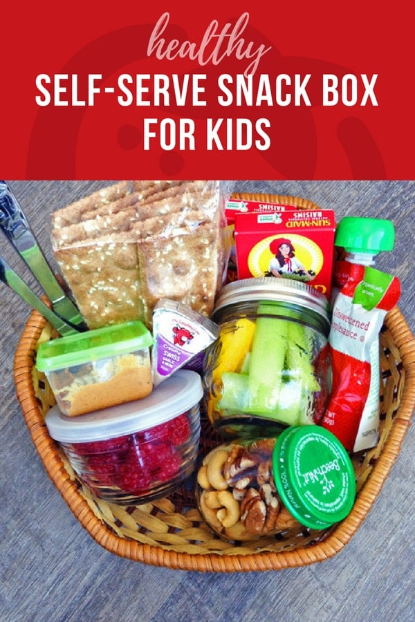 Healthy Self-Serve Snack Box for Kids