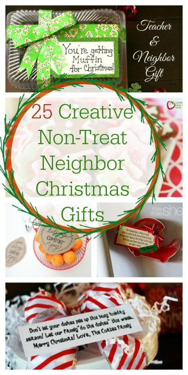 graphic relating to We Wash You a Merry Christmas Free Printable called 25 Resourceful Non-Deal with Neighbor Xmas Items - Tremendous