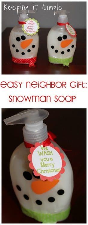 picture about We Wash You a Merry Christmas Free Printable called 25 Innovative Non-Handle Neighbor Xmas Items - Tremendous