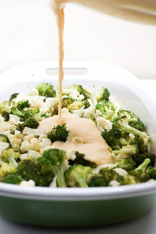 Cheesy Broccoli and Cauliflower Casserole | Super Healthy Kids | Food and Drink