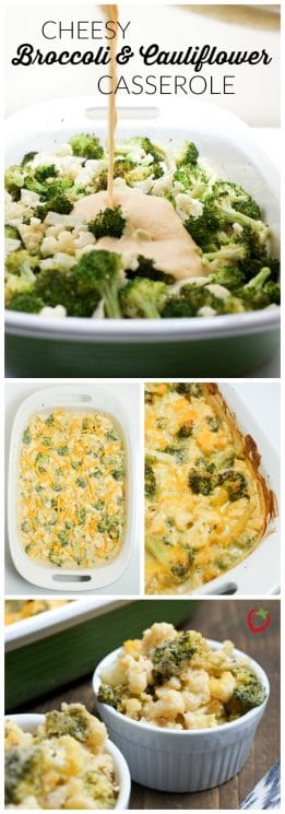 FOOD - Cheesy Broccoli and Cauliflower Casserole | Super Healthy Kids | Food and Drink https://www.superhealthykids.com/cheesy-broccoli-cauliflower-casserole-recipe/