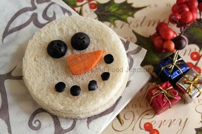 snowman-sandwich