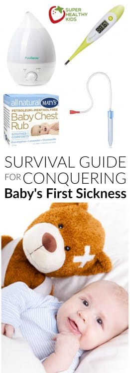 Mom's Survival Guide to Conquering Baby's First Sickness | Super Healthy Kids | Kids and Baby