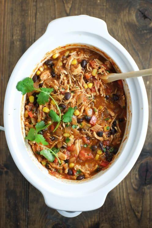 Slow Cooker Chicken Enchilada Bowls | Super Healthy Kids | Food and Drink