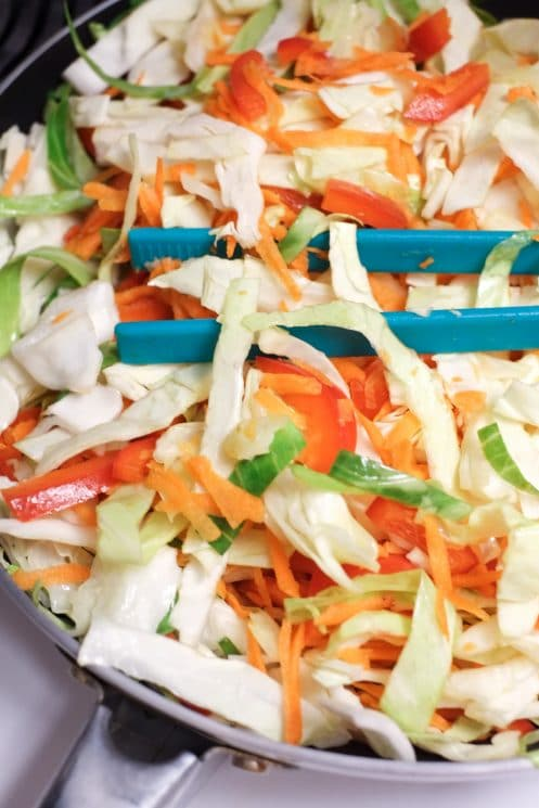 Easy Pancit Noodles and Veggies - Super Healthy Kids