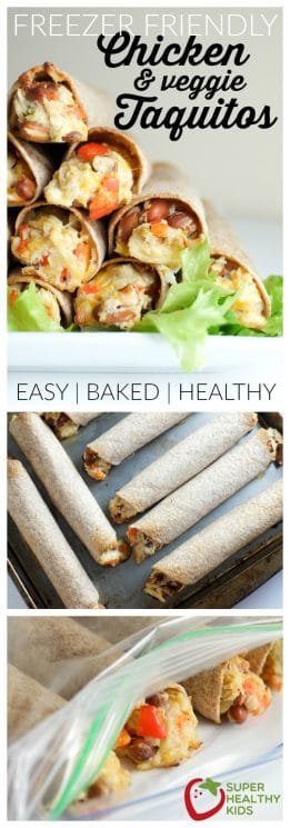 FOOD - Homemade Freezer Friendly Taquitos | Super Healthy Kids | Food and Drink https://www.superhealthykids.com/homemade-freezer-friendly-taquitos/