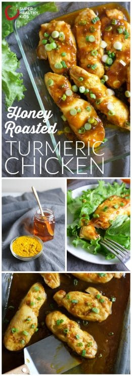 Honey Roasted Turmeric Chicken Recipe | Super Healthy Kids | Food and Drink