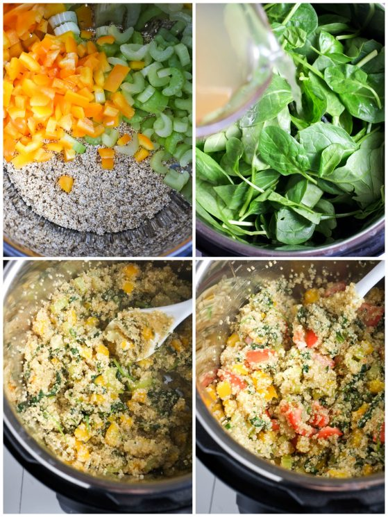 One-Minute Instant Pot Quinoa and Veggies | Super Healthy Kids | Food and Drink