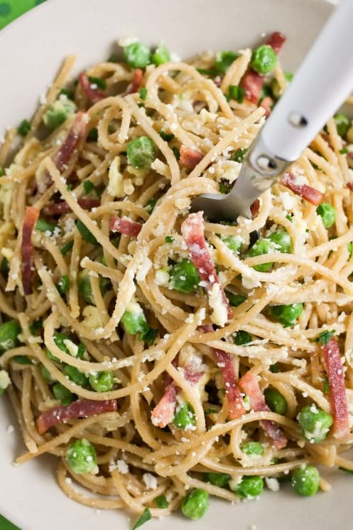 20 Minute Meal! Healthy Italian Spaghetti Carbonara | Super Healthy Kids | Food and Drink