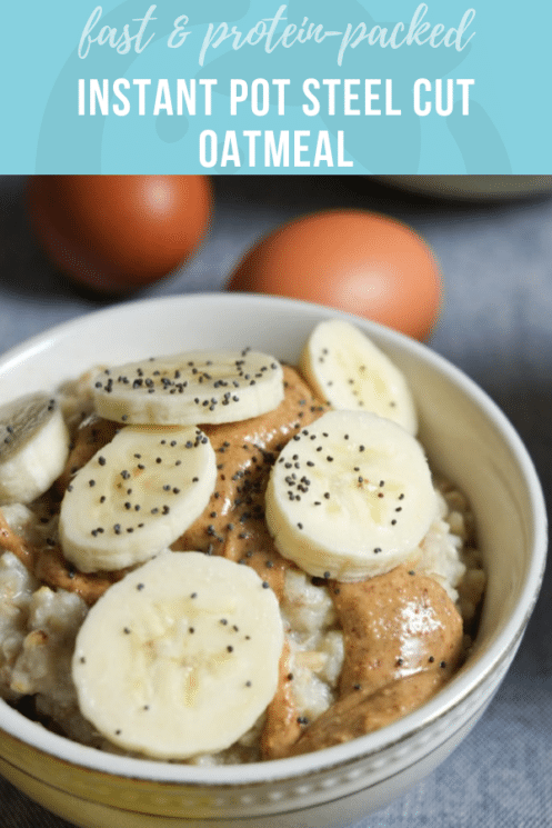 Instant Pot Steel Cut Oatmeal | Healthy Ideas and Recipes for Kids