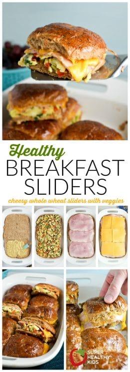Healthy Breakfast Sliders | Easy breakfast idea for kids! | Super Healthy Kids | Food and Drink