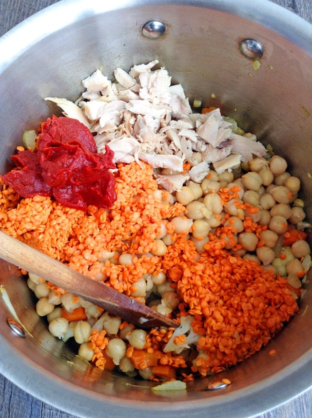 "Kids' Curry with Chicken and Lentils. Redefine ""kid-friendly"" with this mild, warming, healthy curry packed with protein and vegetables. http://www.superhealthykids.com/kids-curry-with-chicken-and-red-lentils/"