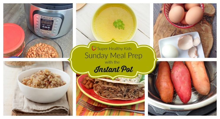 Sunday Meal Prep Instant Pot